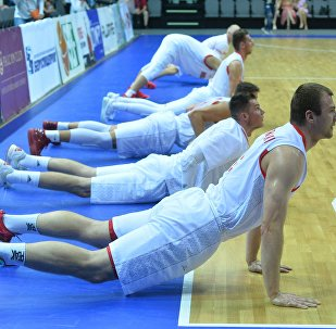 Баскетбольный матч Беларусь - Болгария