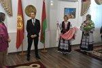 Урачыстае ўручэнне канцэртнай сукенкі Юліі Руцкай