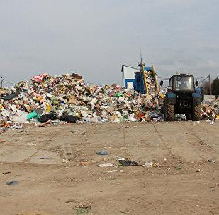 Полигон коммунальных отходов, архивное фото