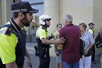 Полиция в Барселоне