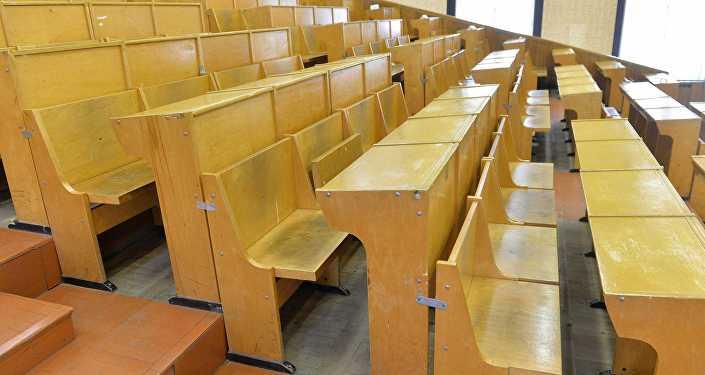 Студенческая аудитория в БГУ