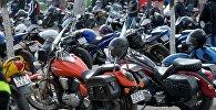 Мотоциклы, архивное фото