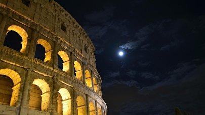 Колизей ночью