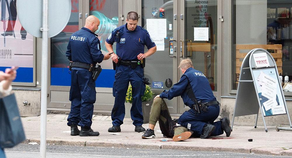 5 человек задержаны поподозрению впричастности крезне вфинском Турку