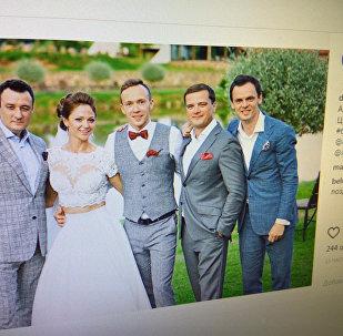 Долгожданная свадьба Александры Герасимени и Евгения Цуркина
