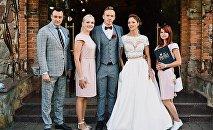 Свадьба Александры Герасимени и Евгения Цуркина