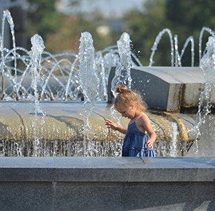 Жара в Минске