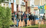 Нападение на прохожих в Сургуте
