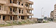 Ситуация на одной из улиц в Сирии