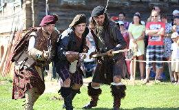 Паказальныя выступленні шатландскіх горцаў