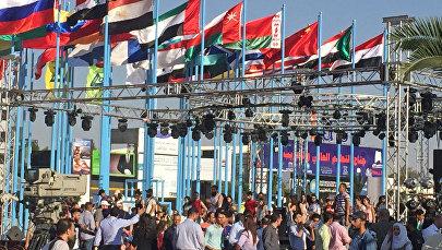 Открытие 59-й международной промышленной выставки в Дамаске