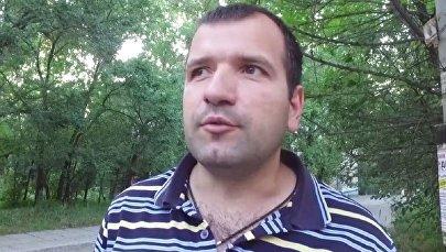 Представитель ассоциации силачей России Александр Садков