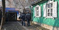 Милиционеры, проводившие выселение семьи Брель