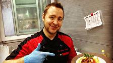 Шэф-повар, кулінарны эксперт Сяргей Сініцын