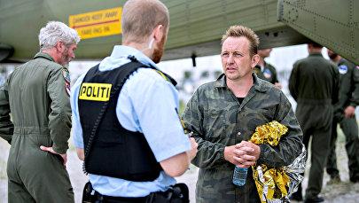 Петер Мадсен после операции оп спасению Наутилуса
