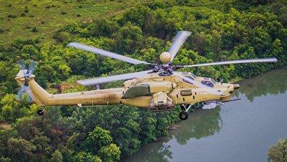 Модернизированный Ми-28УБ Ночной охотник