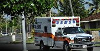 Машина скорой помощи в США, архивное фото