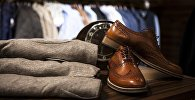 Магазин мужской одежды, архивное фото