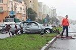 Авария на улице Маяковского в Минске