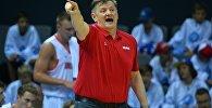 Главный тренер мужской сборной Беларуси по баскетболу Александр Крутиков