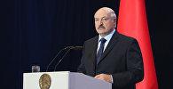 Выступленне Аляксандра Лукашэнкі на рэспубліканскім педагагічным савеце