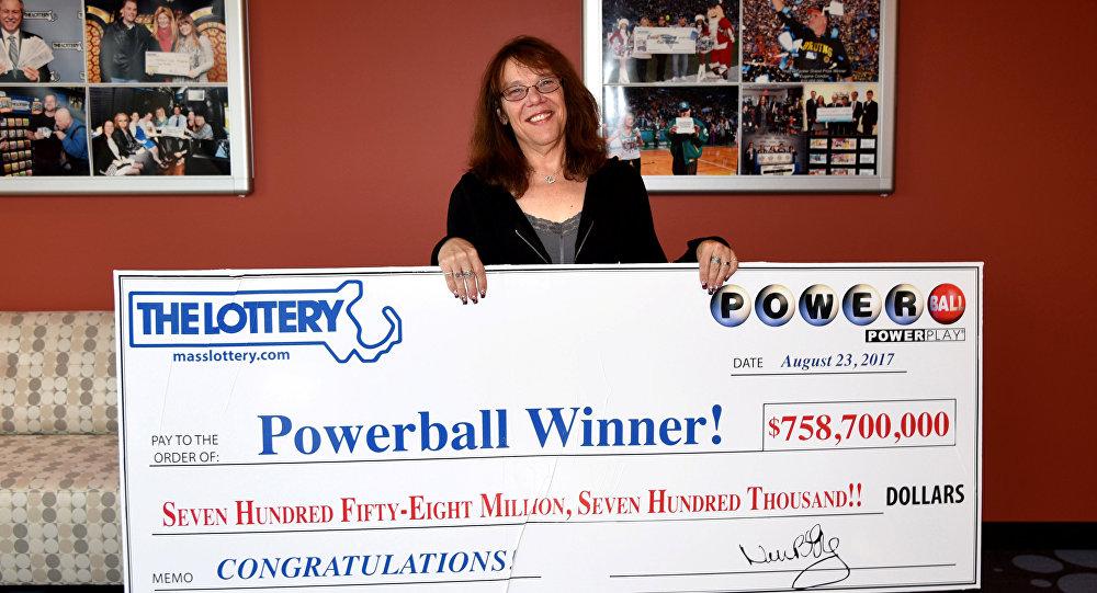 ВСША победитель лотереи сорвал джекпот в758,7 млн долл