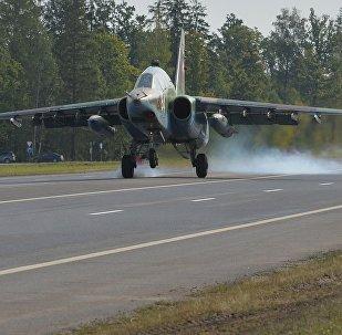 Посадка Су-25