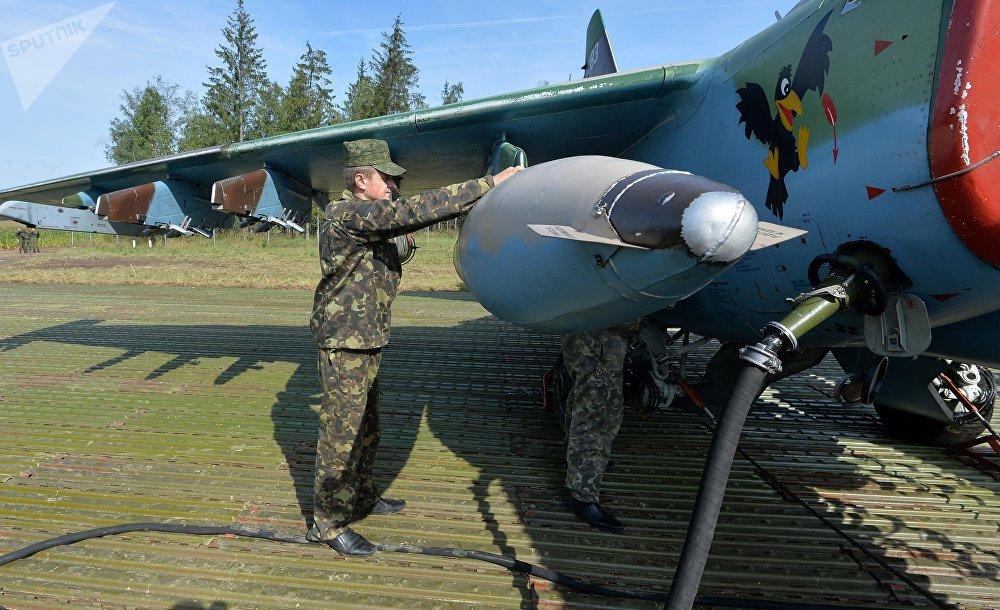 Дозаправка и обслуживание самолетов после посадки на АУД
