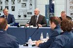 Александр Лукашенко на встрече с игроками Динамо-Минск