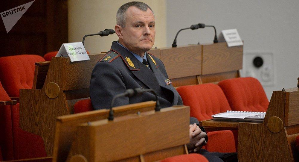 Глава МВД Беларуси Игорь Шуневич