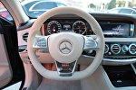 Руль автомобиля Mercedes