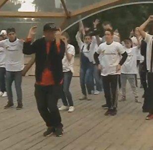 Мастер-класс танцевальной школы TODES для участников шоу Ты супер! Танцы