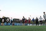 Відэафакт: Крумкачы згулялі ў амерыканскі футбол