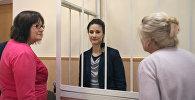 Ольга Степанова в суде Витебска, который проходит в закрытом режиме