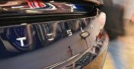 Багажник автомобиля Tesla