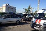 Массовое ДТП в Минске