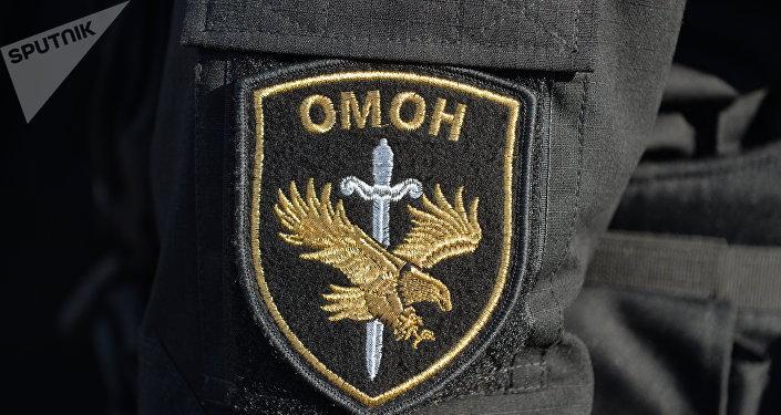 Шеврон бойца ОМОНа