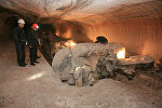 Работа калийного комбайна