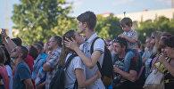 На фестивале в Минске
