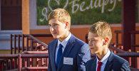 Николай Лукашенко в Острошицко-Городокской школе