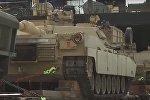 Американские танки прибыли в Грузию для участия в учениях НАТО