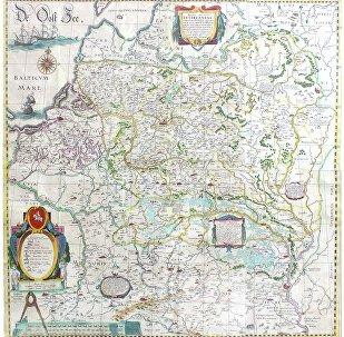 Карту ВКЛ XVII стагоддзя прэзентуюць у Мінску