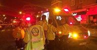 Смертельная авария в Мадриде