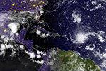 Ураган Ирма в Атлантическом океане