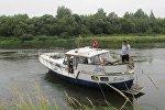 Яхта с гражданами Норвегии села на мель в Витебской области