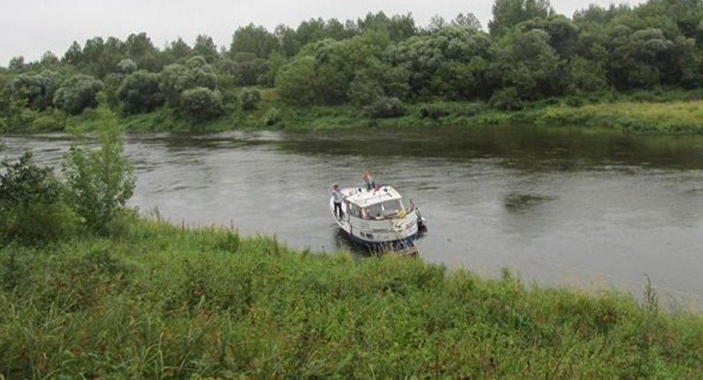 ВДубровенском районе яхта синостранцами села намель