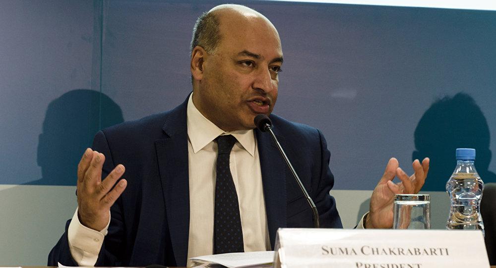 Президент Европейского банка реконструкции и развития (ЕБРР) Сума Чакрабарти