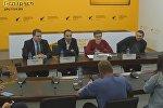 Пресс-конференция в ММПЦ Sputnik