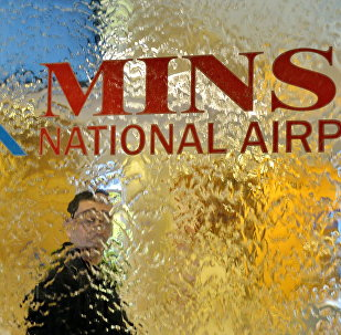 В Национальном аэропорту Минск