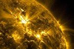 Протуберанцы на Солнце